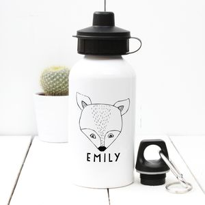 Personalised 'Fox' Water Bottle