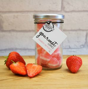 Strawberry And Prosecco Gourmet Gummies - sweets