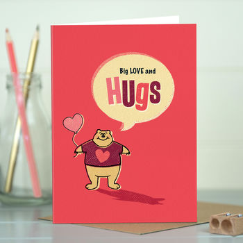 Love 'Love Hugs' Love Card