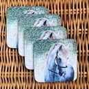 White Horse Coaster | Horse Decor
