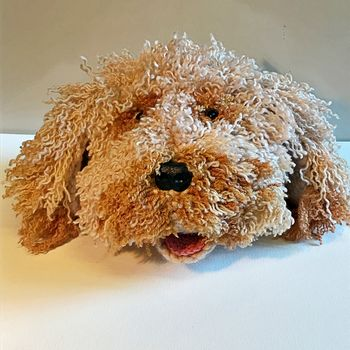 Personalised Crochet Soft Toy Head Of Your Pet