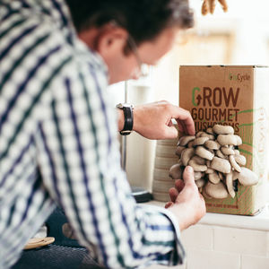 Grow Your Own Mushrooms Kit - gardener