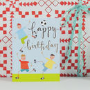 Happy Birthday Football Mini Card