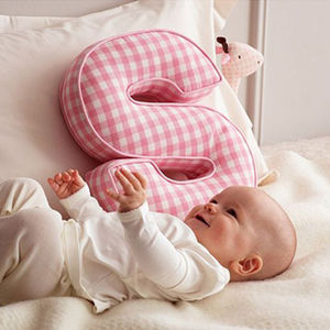 Letter Cushion - baby's room