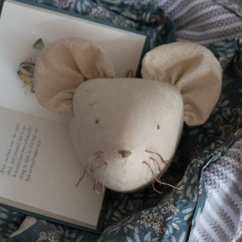 Little Mouse Animal Head Wall Hanging