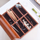 Personalised Mens Leather Storage Box