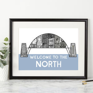 Welcome To The North Print - posters & prints