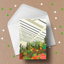 The Barbican Conservatory Illustrated Greeting Card
