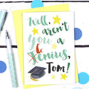Personalised Congratulations Exams Card