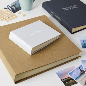 Luxury Photo Album In Linen