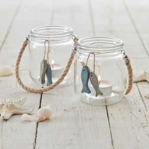 Nautical Tea Light Holder - votives & tea light holders
