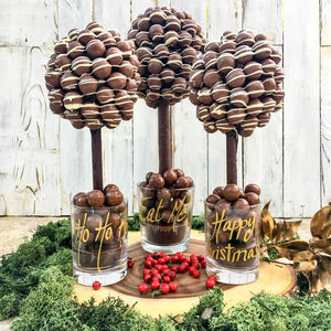 Personalised Malteser Chocolate Edible Tree - chocolates