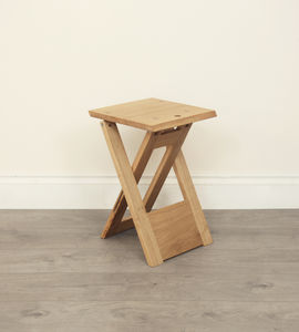 Wooden Folding Stool - side tables