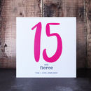 15th birthday card for teenagers