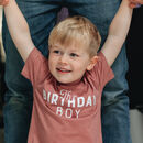 Birthday Boy Kids T Shirt