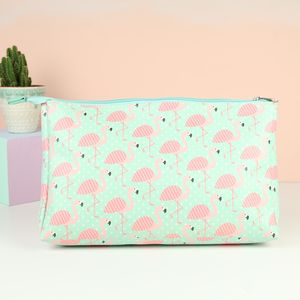 Flamingo Wash Bag - make-up & wash bags