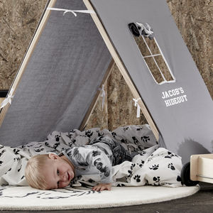Personalised Hideout Play Tent - tents, dens & teepees