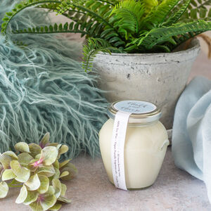 Linen Fresh Soy Wax Jar Candle
