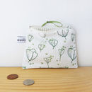 Floral Buds Coin Purse