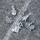Personalised suede friendship bracelet Christmas Charms