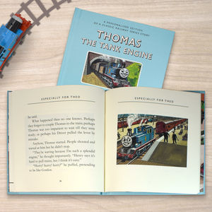 Personalised Thomas The Tank Engine Book Gift Boxed - whatsnew