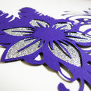 Purple Venetian Mask Inspired Papercut
