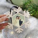 Mr And Mrs Photograph Christmas Hanging Decoration