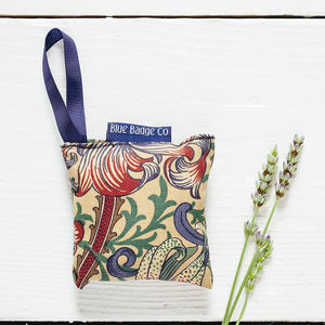 Lavender Bag In William Morris Golden Lily - new in home
