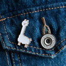 Mini Llama Pin Badge