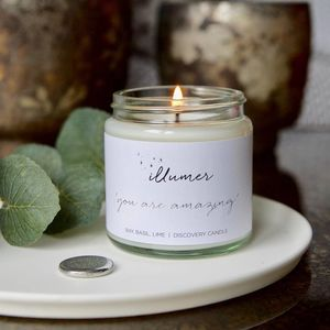 'You Are Amazing' Pebble Charm Scented Candle