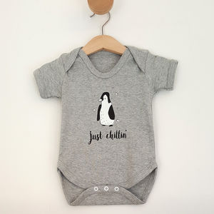 'Just Chillin' Baby Grow - babygrows