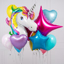 Unicorn Crazy Party Balloon Bunch