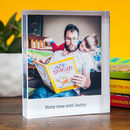 Personalised Photo Acrylic Block Father's Day