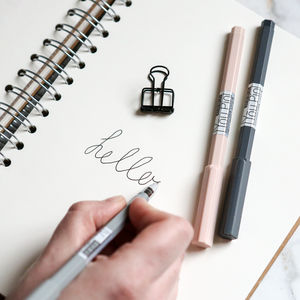 Hexagonal Gel Pen - stylish stationery ideas