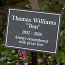 Personalised Slate Memorial Plaque
