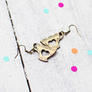 Music Tea Cup Earrings