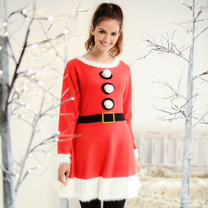 Women's Christmas Knitted Dress