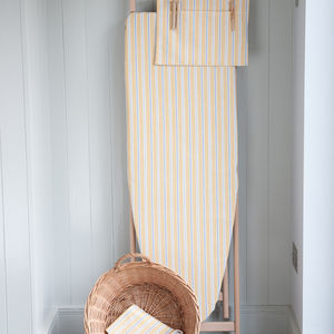 Ledbury Ochre Grey Ironing Board Cover - ironing