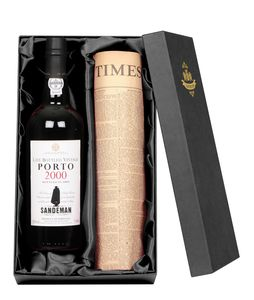 Sandeman Lbv Port With Newspaper Gift Set - view all new