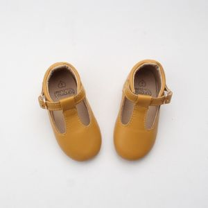 'Mustard Traditional T Bars' For Toddlers And Children - children's shoes, sandals & boots
