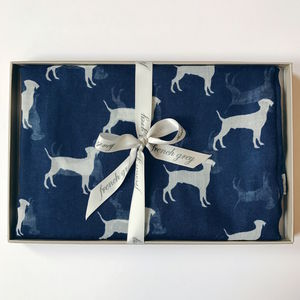 Labrador Print Scarf - hats, scarves & gloves