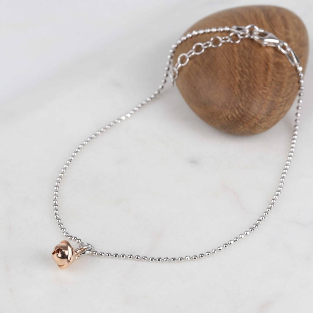 buy or gold bracelet womens anklet rose snowflake resize plated rosie jewellery small snowflaked