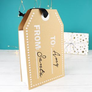 Craft Label Gift Bag - winter sale