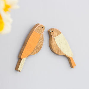 Set Of Two Wall Birds