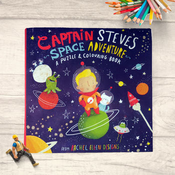 Captain Steve's Space Adventure Activity Book