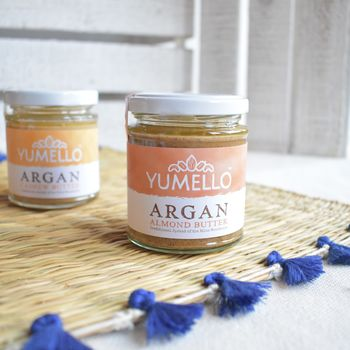 Almond And Cashew Argan Nut Butter Bundle