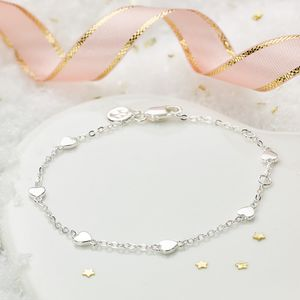 By The Inch Heart Bracelet - jewellery gifts for children
