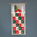 Hanging Felt Christmas Advent Calendar