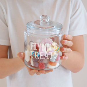Personalised Treats Jar - tins, jars & bottles