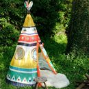 Children's Multicoloured Teepee